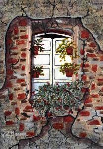 Valerie Garner Releases Two New Watercolor Painting Originals